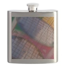 Silicon wafers Flask