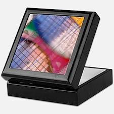 Silicon wafers Keepsake Box