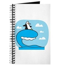 Silly Surfing Penguin Journal