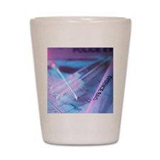 Forensic evidence Shot Glass