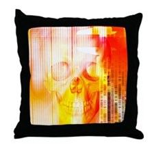 Forensic science Throw Pillow