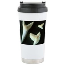 Sharks' teeth Travel Mug