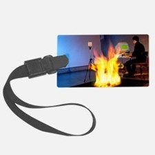 Fire research Luggage Tag