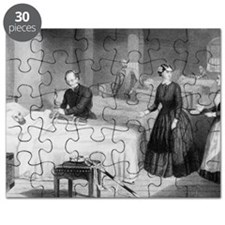 Florence Nightingale in a military hospital Puzzle