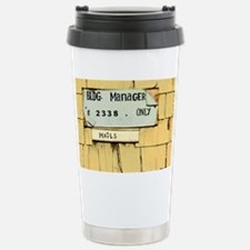 Sign and Mail Slot Stainless Steel Travel Mug
