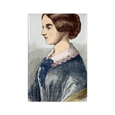 Florence Nightingale, British nur Rectangle Magnet
