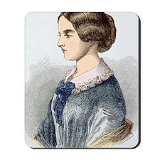 Florence Nightingale, British nurse Mousepad
