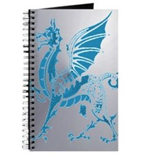 Blue And Silver Dragon Journal