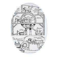 Sugar Mill Oval Ornament