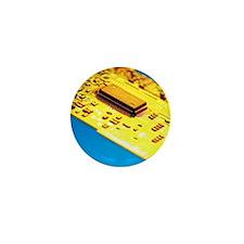 Silicon chip Mini Button