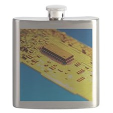 Silicon chip Flask