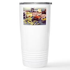 Fast food, computer artwork Travel Mug