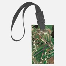 Silverstone race track, aerial i Luggage Tag