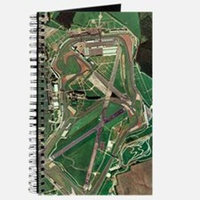 Silverstone race track, aerial image Journal