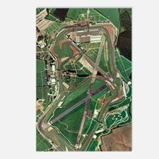 Silverstone race track, a Postcards (Package of 8)