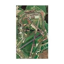 Silverstone race track, aerial Decal