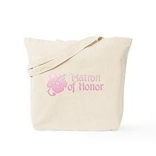 Hibiscus Matron of Honor Tote Bag