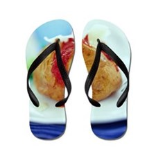 Filled jacket potato Flip Flops