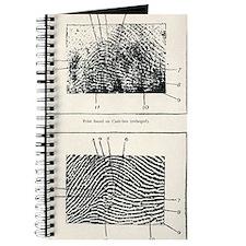 Fingerprint evidence, 1905 murder case Journal