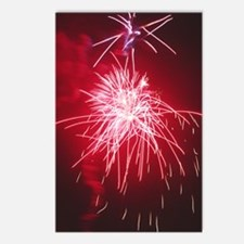 Firework display Postcards (Package of 8)