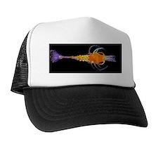 Shrimp larva, light micrograph Trucker Hat