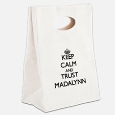 Keep Calm and trust Madalynn Canvas Lunch Tote
