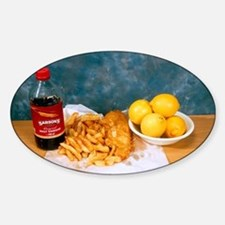 Fish and chips Decal