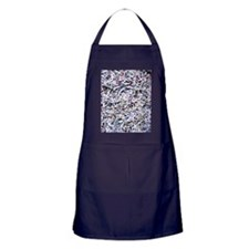 Shredded documents Apron (dark)