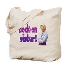 Rock-on sister! Tote Bag