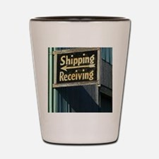 Shipping and Receiving Shot Glass