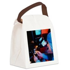 Silicon chip autobonding Canvas Lunch Bag