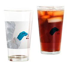 Forensic drug analysis Drinking Glass