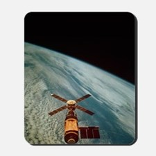Skylab 1 space station in orbit Mousepad