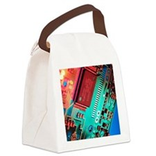 Silicon chip Canvas Lunch Bag