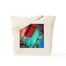 Silicon chip Tote Bag