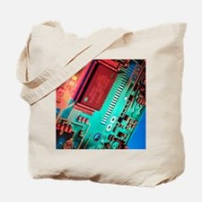 Silicon chip Tote Bag