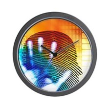 Forensic science Wall Clock