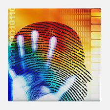Forensic science Tile Coaster