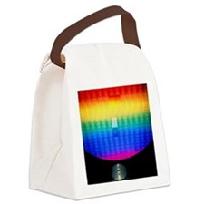 Silicon sunrise Canvas Lunch Bag