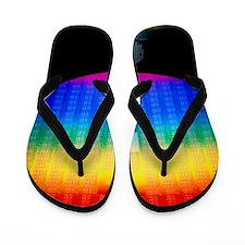Silicon sunrise Flip Flops