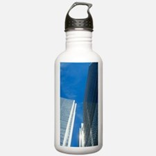 Skyscrapers in Canary  Water Bottle