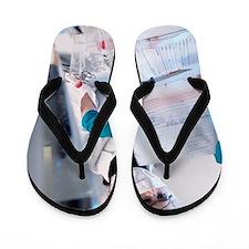 Forensic scientist Flip Flops