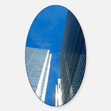 Skyscrapers in Canary Wharf Decal