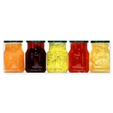Food in jars Bumper Sticker