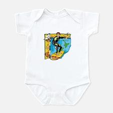 New Zealand Surfer Infant Bodysuit
