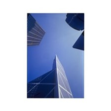 Skyscrapers Rectangle Magnet