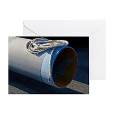 Pipe and Rope Greeting Card