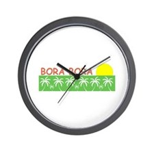Unique Polynesian Wall Clock