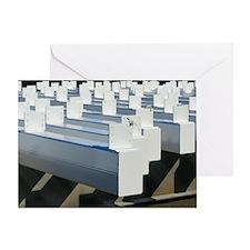Square Poles Greeting Card