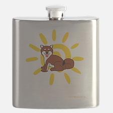 Shiba Sun iPad 2 White Flask